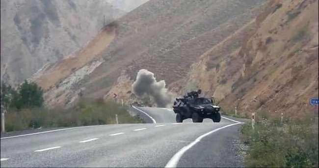 Hakkari'de PKK'dan hain tuzak!