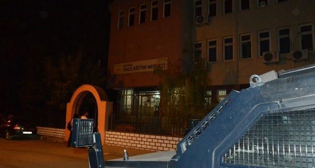 Halk Eğitim Merkezine bombalı saldırı!