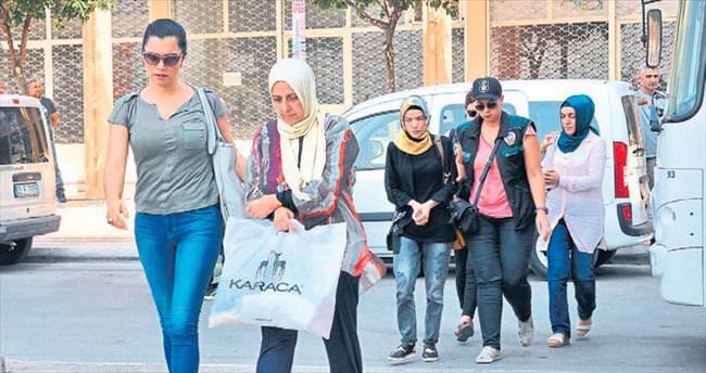 Mersin'de fetö'cü 19 kişi tutuklandı