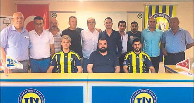 Tarsus İdmanyurdu 2 futbolcuyla anlaştı
