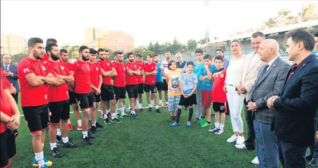 Başkan Fethi Yaşar'dan Çakırlargücü'ne destek