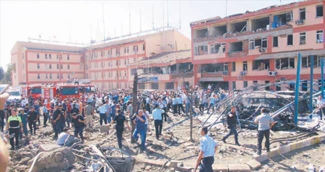 8 ton bombayla hain saldırı