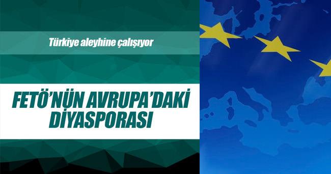 FETÖ'nün Avrupa'daki diasporası