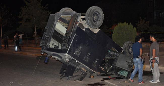 Zırhlı araç otomobille çarpıştı: Bir şehit