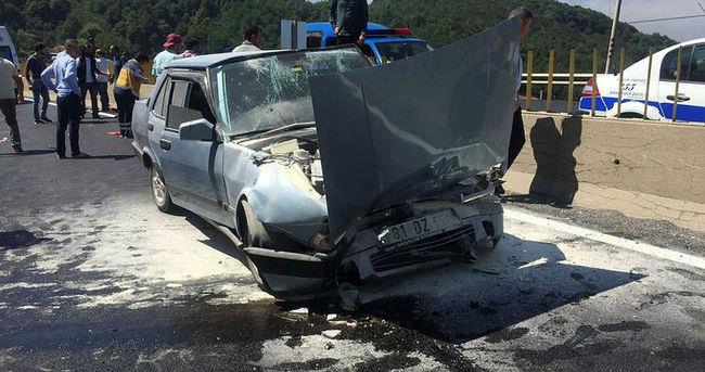 Bolu Dağı'nda trafik kazası: 10 yaralı