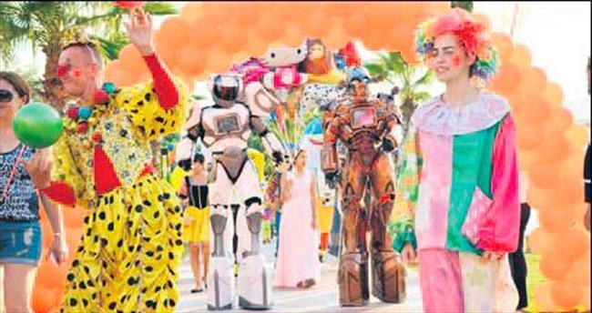 Çocukları sevindiren geleneksel festival