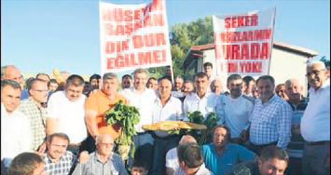 Pancar üreticisi Kayseri Şeker'i ziyaret etti