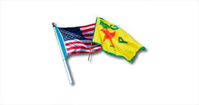 ABD'den terör örgütü PYD'ye hava desteği