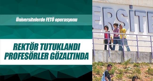 Üniversitelerde FETÖ operasyonu 85 gözaltı