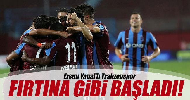 Trabzonspor - Kasımpaşa maç sonucu