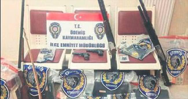Ödemiş'te FETÖ baskını: 25 gözaltı