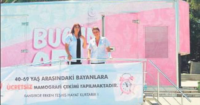 Kanser tarama TIR'ı üç hafta Mudanya'da