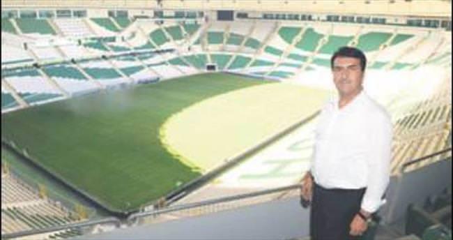 Timsah Arena Bursaspor'a güç katacak