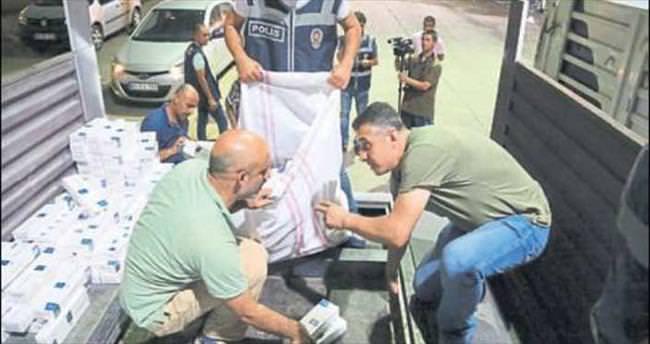 Osmaniye'de kaçak sigara operasyonu