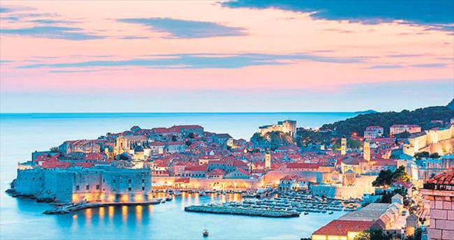 Deniz, istiridye ve eğlence Dubrovnik