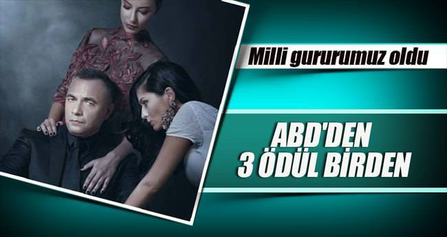 Türk tasarımcıya ABD' de 3 ödül!