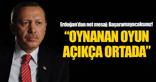 Cumhurbaşkanı Erdoğan'dan Gaziantep açıklaması