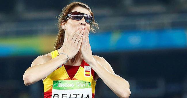 Atletizmde madalyalar dağıtıldı