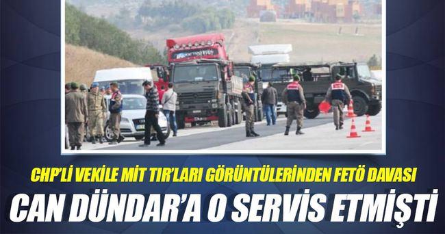 CHP'liBerberoğlu'naMİT TIR'ları görüntülerinden FETÖ davası
