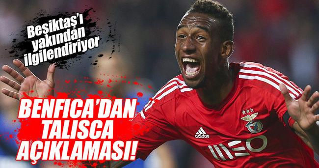 Benfica hocasından Talisca açıklaması!