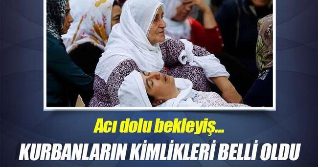 Gaziantep'teki patlamada kurbanların kimlikleri belli oldu