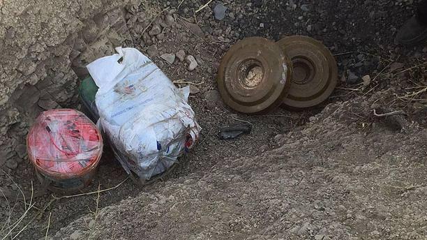 Şırnak'ta yola döşenmiş patlayıcı bulundu!