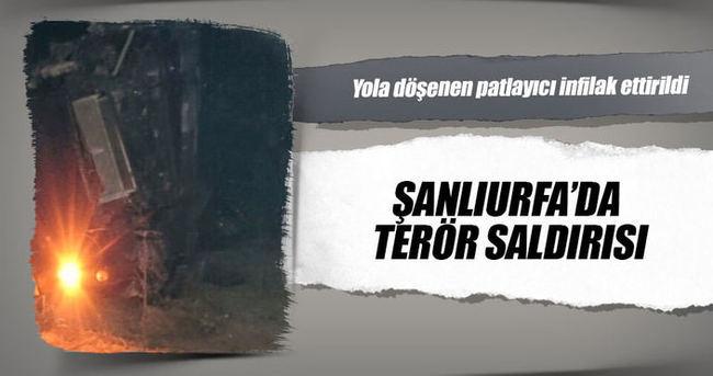 Şanlıurfa'da terör saldırısı
