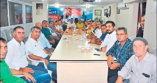 CHP teşkilatından AK Parti'ye ziyaret