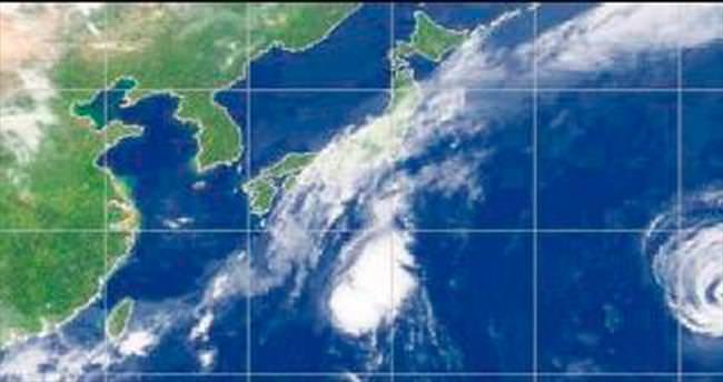 İki tayfun bir arada