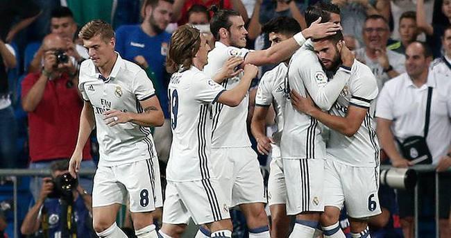 Real Madrid, lige fırtına gibi başladı!