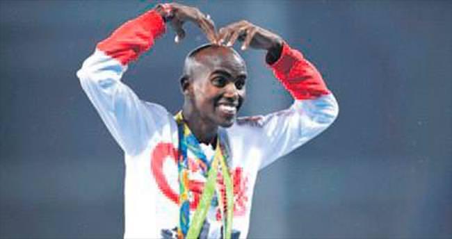 Mo Farah olimpiyat tarihine adını yazdırdı