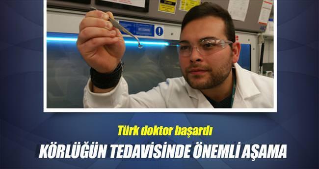 Türk doktordan yapay kornea nakli