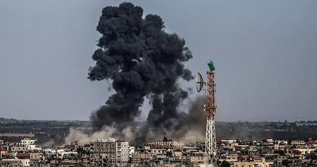 İsrail, Gazze'yi yeniden vurdu