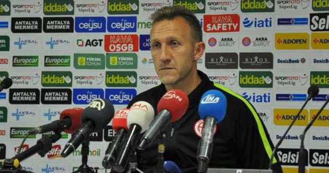 Antalyaspor cephesi mücadeleden memnun