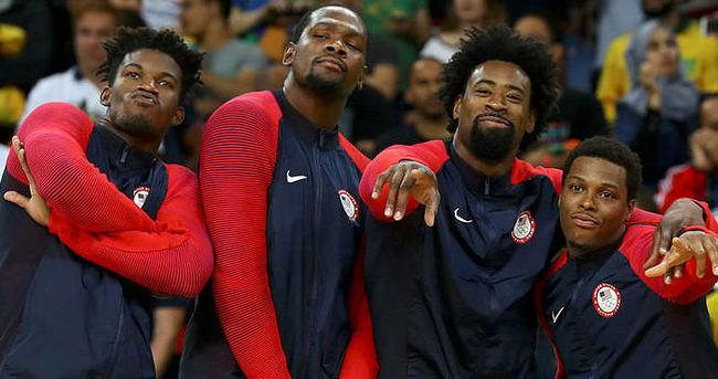 ABD finalde farkını gösterdi