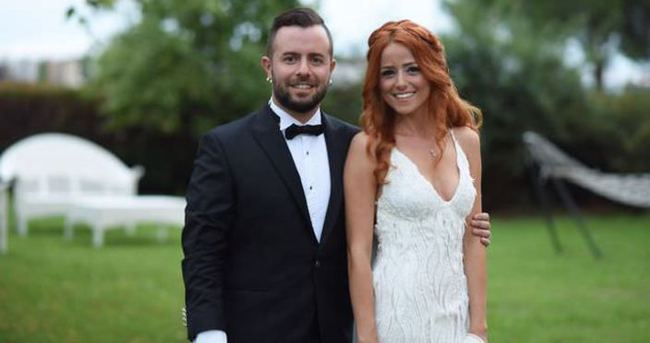 Emre Aydın ile Eda Köksal evlendi