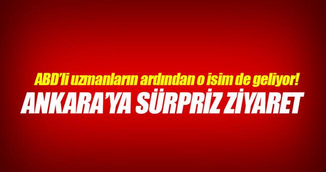 Ankara'ya sürpriz ziyaret