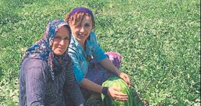 Burdur'da karpuz için adım atıldı