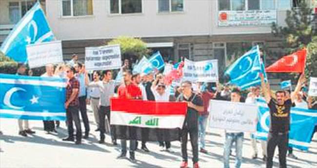 'Irak Türkmensiz olmaz' protestosu