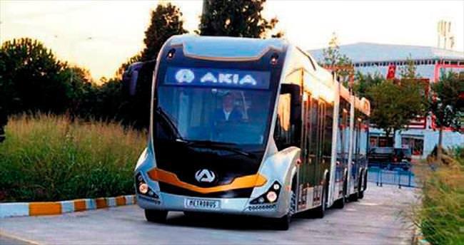 Türkiye'nin ilk yerli metrobüsü