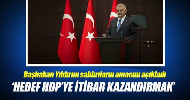 'Hedef HDP'ye itibar ve meşruiyet kazandırmak'