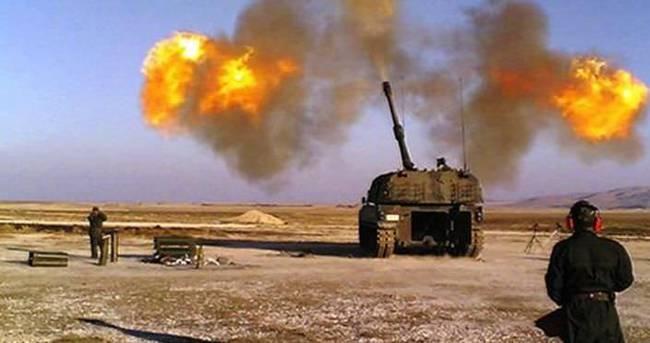 Türkiye IŞİD'i peş peşe vurdu..