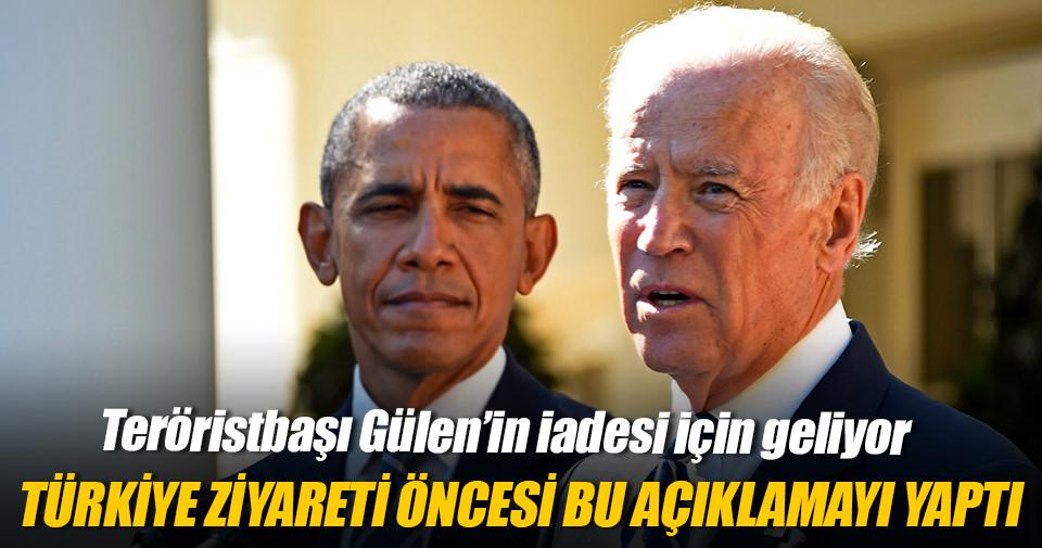 Biden'dan ziyaret öncesi Türkiye mesajı