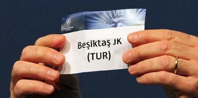 Beşiktaş'ın Şampiyonlar Ligi torbası belli oldu!