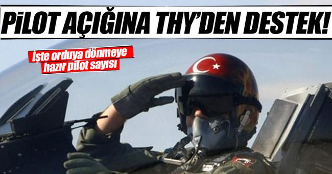 TSK'daki pilot açığına THY'den destek