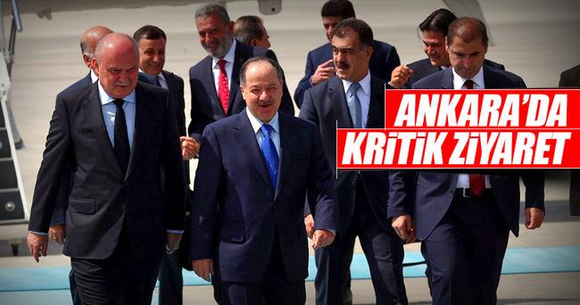 Barzani Ankara'da