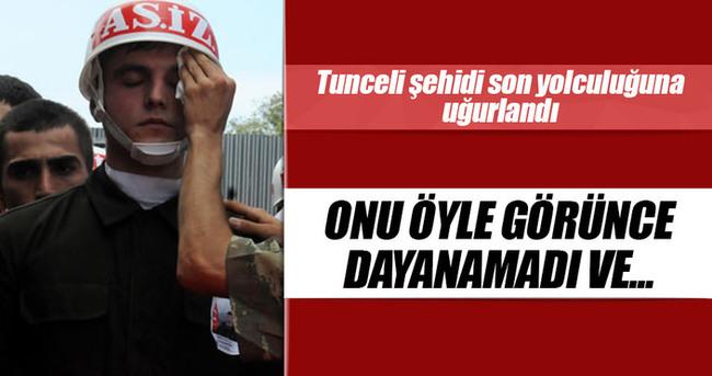 Tunceli şehidi uzman çavuş Durmaz, Trabzon'da toprağa verildi