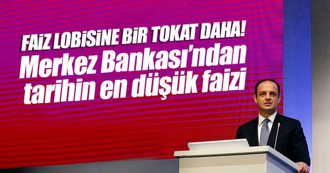 Merkez Bankası faiz indirdi!