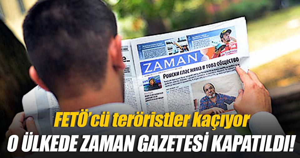 Bulgaristan Zaman Gazetesi'ni kapattı