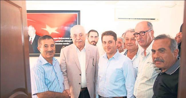 Başkan Seyfi Dingil'den CHP ve MHP'ye ziyaret